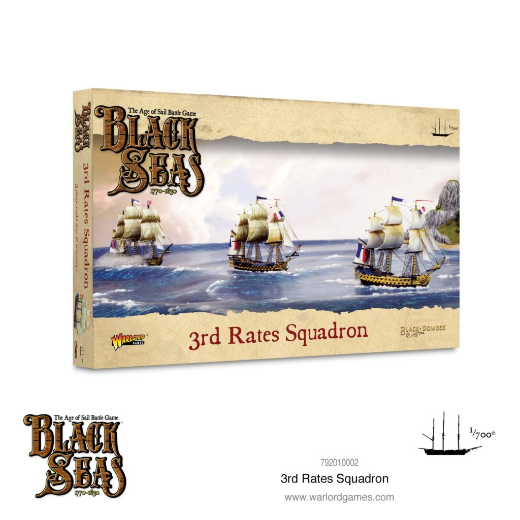 Black Seas: 3r rate squadron  (1770 – 1830)
