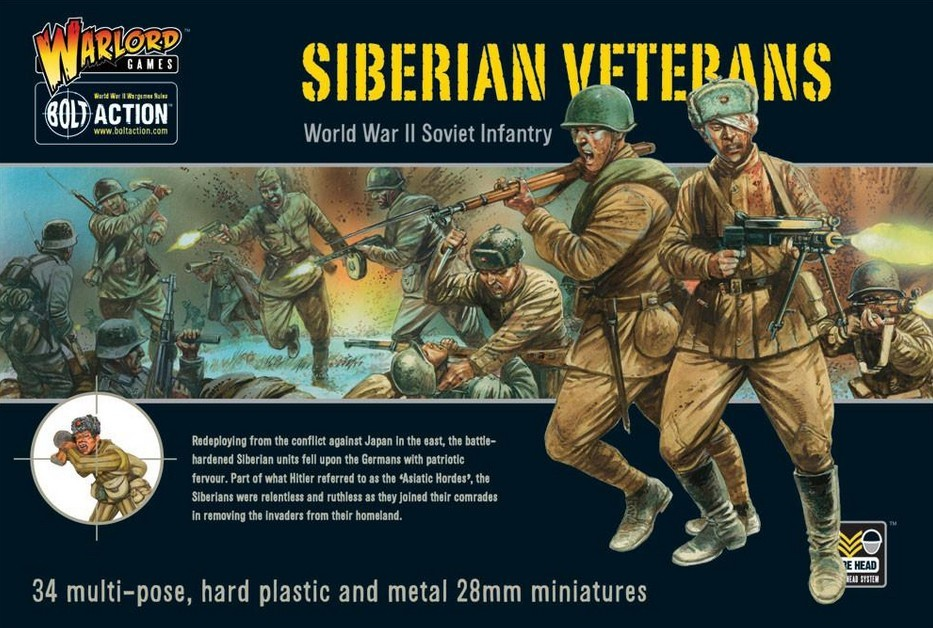 Bolt Action: Siberian Veterans boxed