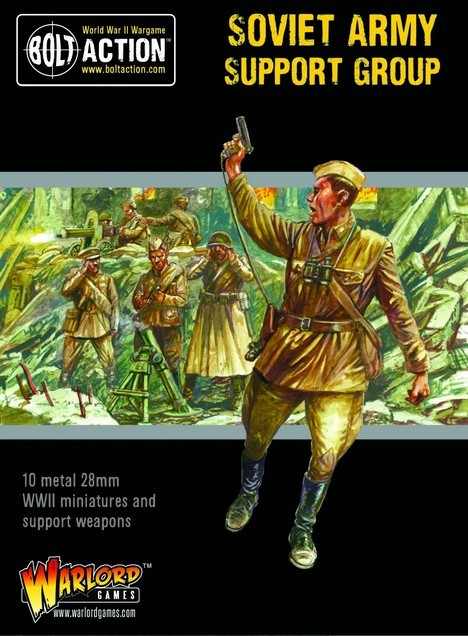 Bolt Action: Soviet Army Support Group